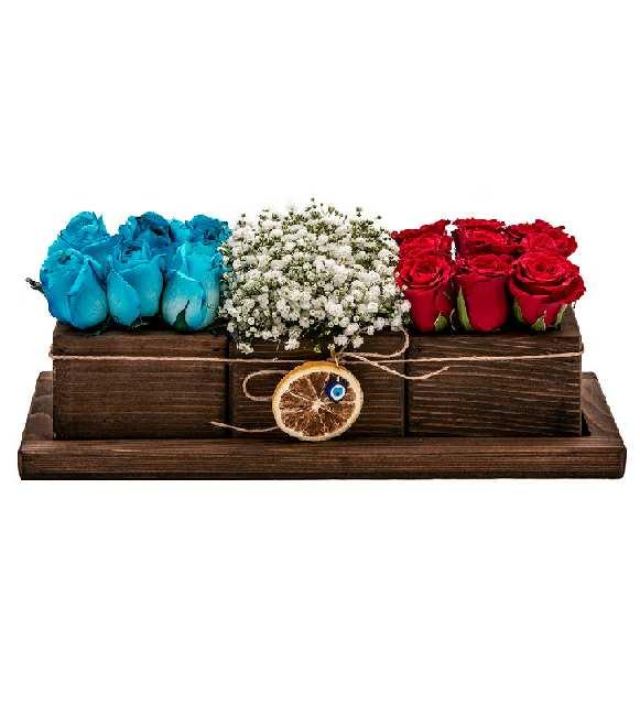 üçlü sevgi serisi mavi kırmızı