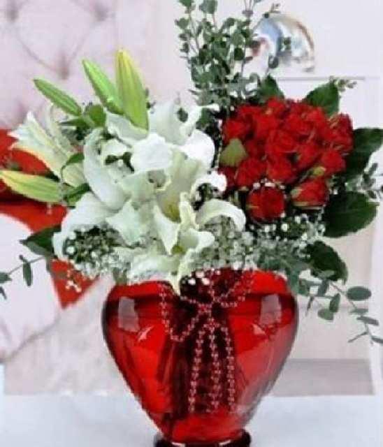 vazo çiçeği (11güllü)